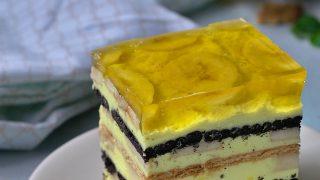 Bananowiec Ciasto bez pieczenia