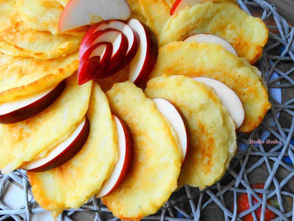 Racuchy z Jabłkami na Kefirze