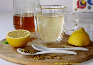 Woda z miodem i cytryną - zdrowotna bomba