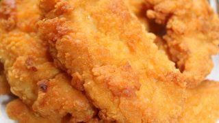 Chrupiące kawałki kurczaka