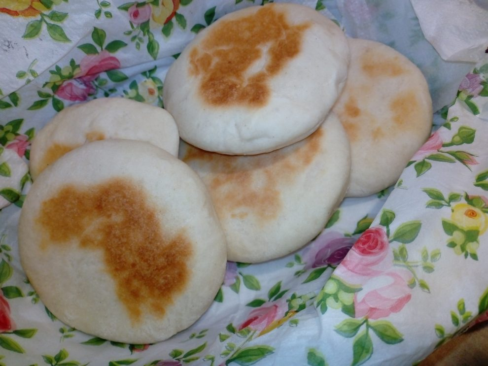 Mini chlebki z patelni