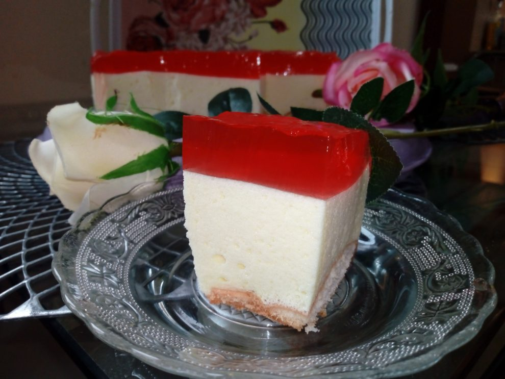 Ciasto puszek z galaretką