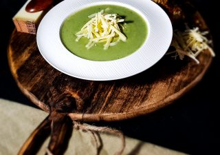 Zupa z fenkuł i Szwajcarskiego Gruyère