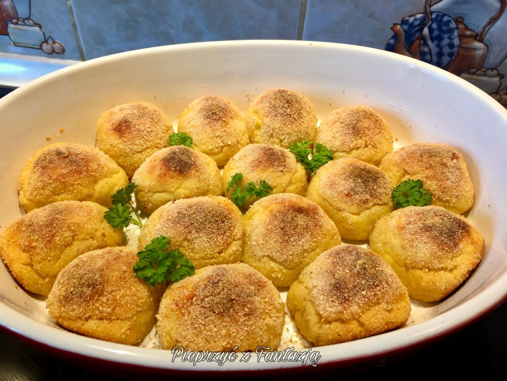 Pieczone kulki z ziemniaków