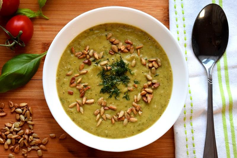 Zupa krem brokułowa z zieloną soczewicą + FILM