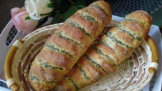 Bagietki ziołowo - czosnkowe