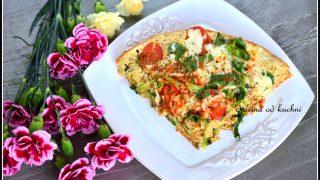 Omlet z tuńczykiem