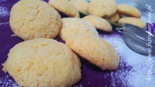 Ciasteczka budyniowo-kokosowe