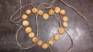 Ciasteczka migdałowe z masy marcepanowej / Almond cookies