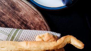 Włoskie paluszki czyli Grissini Torinesi