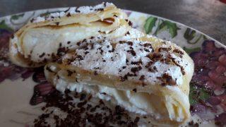 Naleśniki z serkiem / Pancakes with homemade cottage cheese