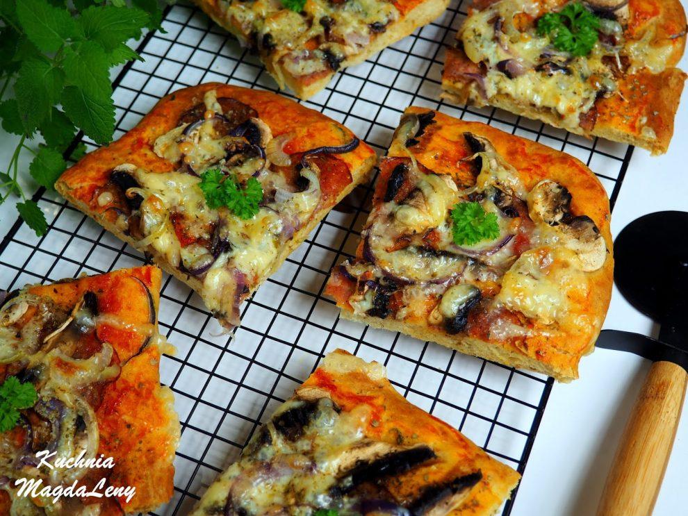 Pizza bez drożdży