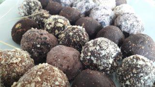 Czekoladowe trufle z whisky / Chocolate truffles with whisky
