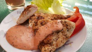 Pomidorowo-musztardowy sos do grilla / Tomato & mustard barbecue sauce