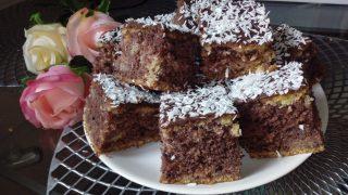 Ciasto z kaszy manny na kefirze