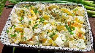 Sałatka ziemniaczana (idealna do dań z grilla)
