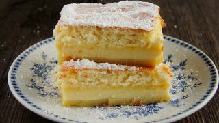 magic cake - magiczne ciasto trzywarstwowe