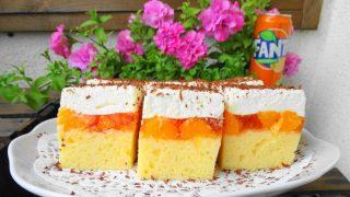 Fanta – styczne ciasto z mandarynkami