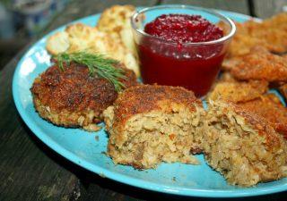 Kotlety mielone z boczniaków, pyszne danie wegetariańskie