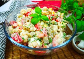 Pyszna sałatka z kalafiora – na grilla i nie tylko