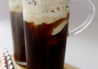 Mrożona kawa bez cukru - cafe frappe