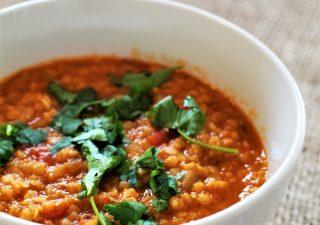 Red Lentil Dhal - hinduska 'zupa' z czerwonej soczewicy