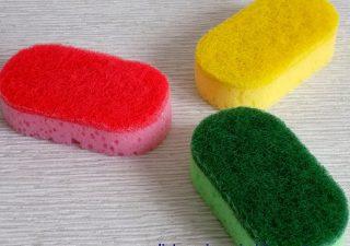 To musisz wiedzieć przy wyborze gąbki do zmywania