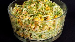 Letnia sałatka z kukurydzą na szybko!