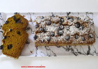 Ciasto dyniowe z borówką - wege