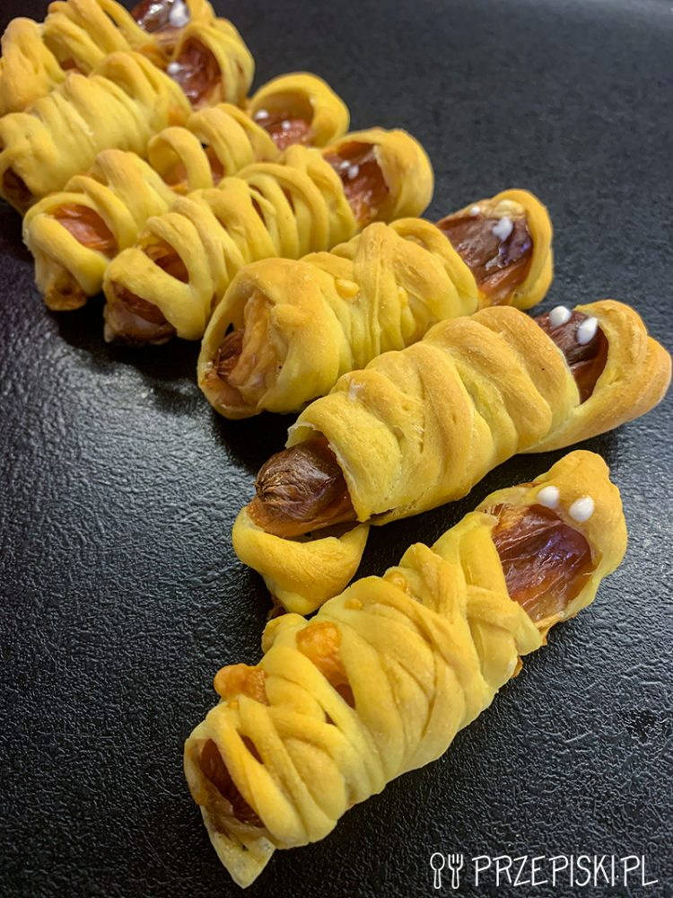 Mini Hot-Dogi Mumie Na Halloween
