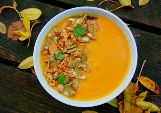 Zupa dyniowo marchewkowa