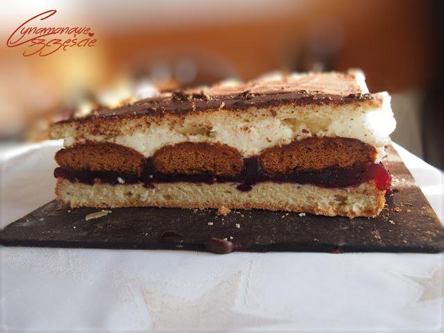 Katarzynka - ciasto z pierniczkami