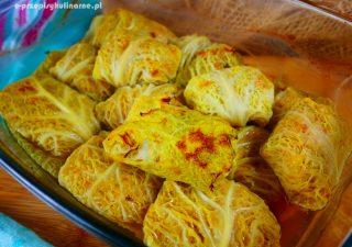 Gołąbki z piekarnika – przepis na fit gołąbki