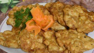 Placuszki z kurczaka z musztardą