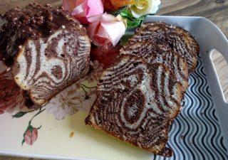 Babka zebra orzechowa