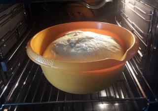 Wyrastanie ciasta drożdżowego w piekarniku