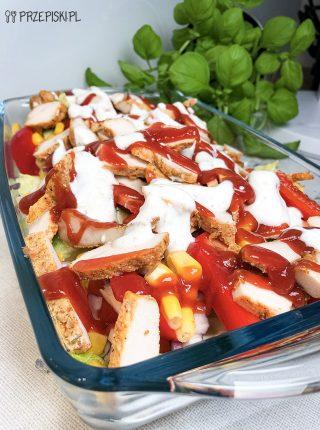 Sałatka Kebabowa
