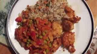 Chakalaka z kurczakiem i ryżem