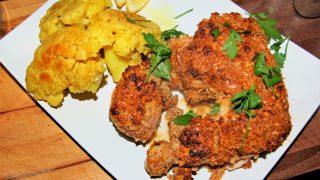 Chrupiący kurczak w kokosie, kuchnia indyjska