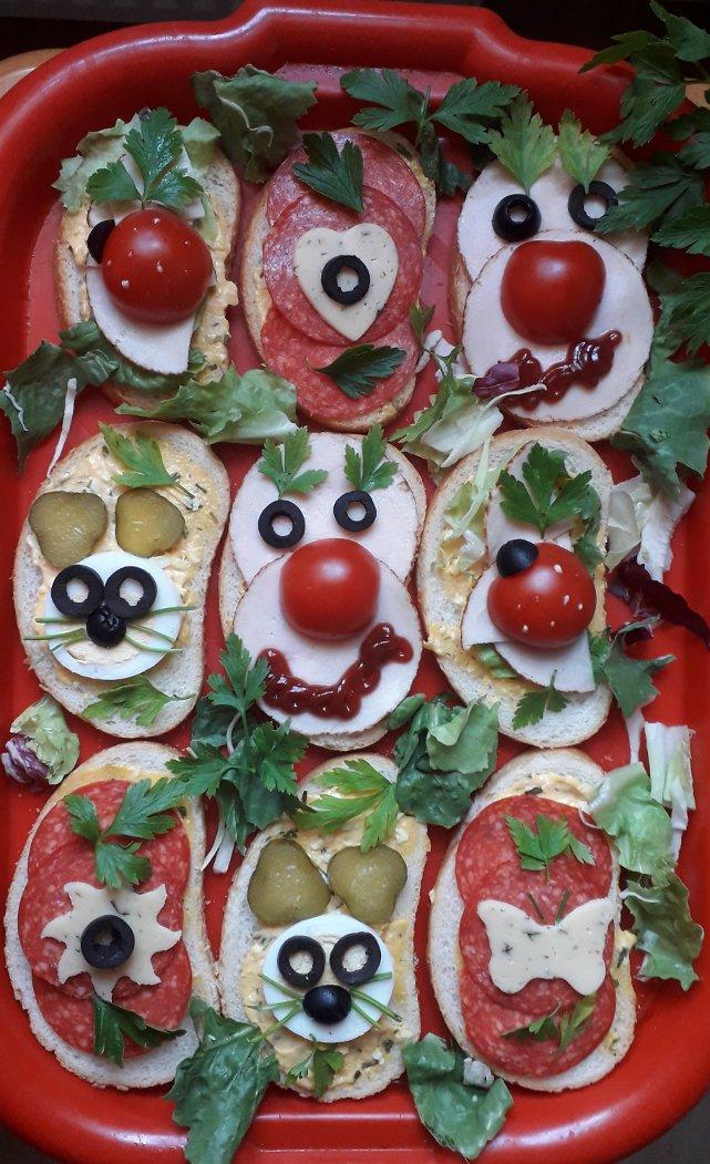 Fantazyjne kanapki