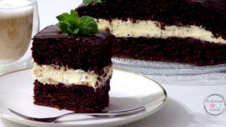 ciasto czekoladowe z kremem mascarpone