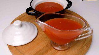 Przepis na sos słodko - kwaśny