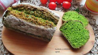 Chleb Szpinakowy