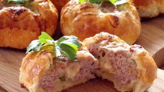 Mięso mielone w cieście francuskim