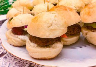 Mini Hamburgery na Dwa Kęsy
