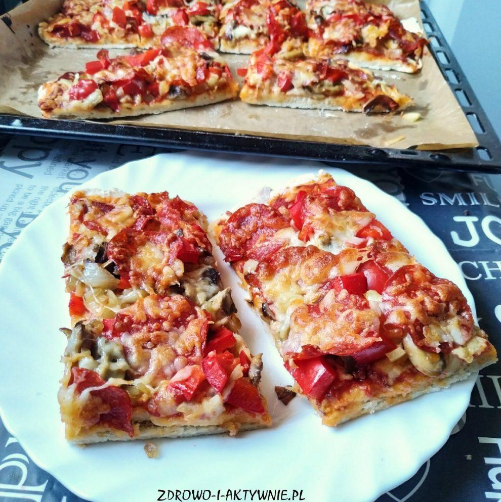 Najlepsza domowa pizza na drożdżach