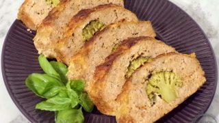 Pieczeń z brokułem