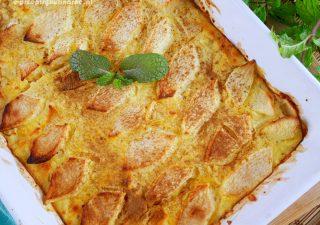 Ryż zapiekany z jabłkami i twarogiem – najlepsza wersja ryżu z jabłkami