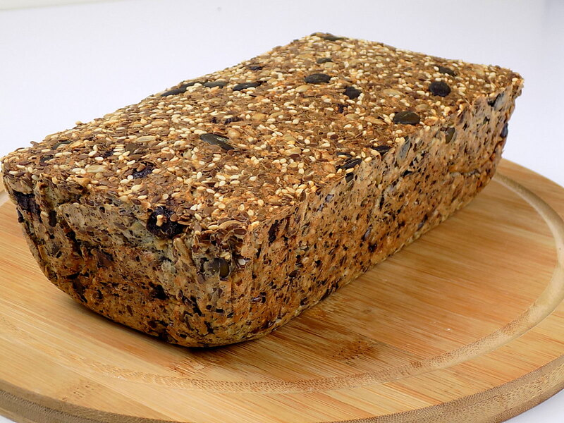 Chleb z ziaren bez mąki