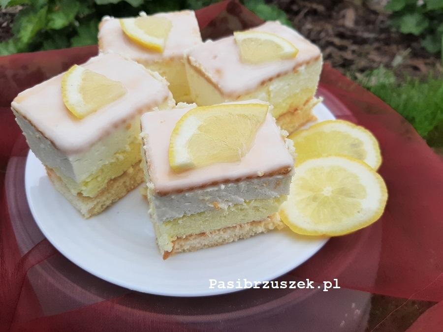 Cytrynowiec - ciasto cytrynowe